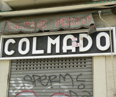 One of many Colmado Quilez shops in the city.