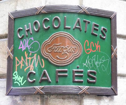 Great chocolate shop, C. del Pi.