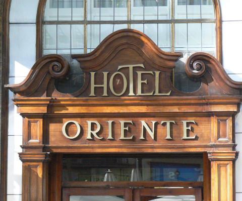 Fin-de-siecle hotel on Las Ramblas.