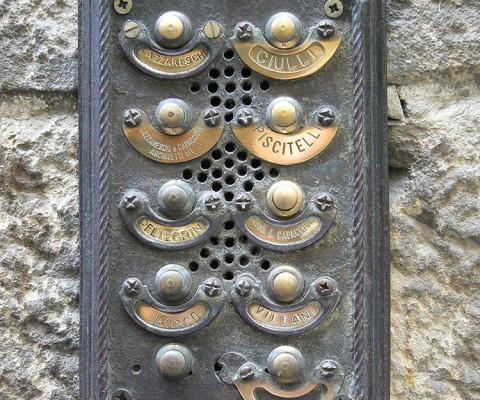 Florence bellplate 4