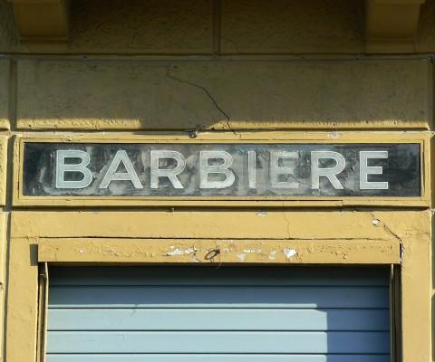 Well worn sign near Santa Maria Novella.