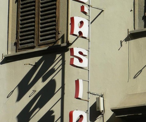 More peculiar letterforms, lovely shadows.