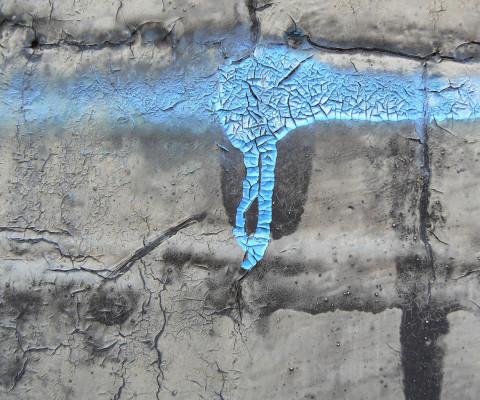 Incidental colour 27 blue drip