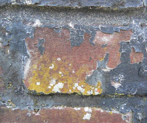 Incidental colour 32 brick/grey