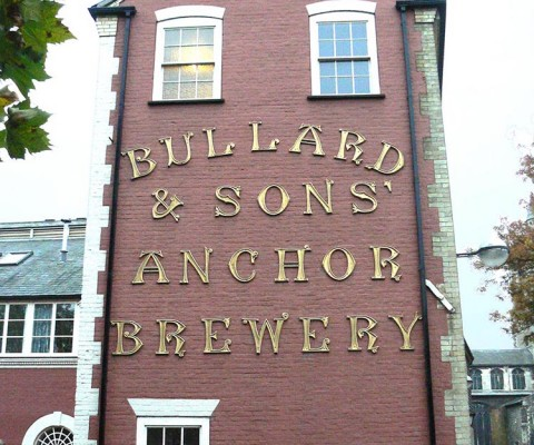 The old Bullard Brewery, facing onto the River Wensum.