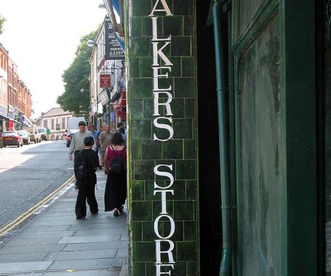 The old Walkers Stores on St. Benet's.