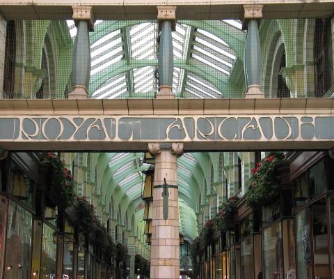 The wonderful Royal Arcade.