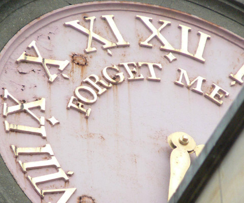 Clock on the tower of St. Michael-at-Plea, Redwell Street.