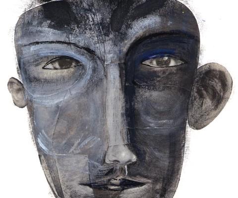 Grey face 1