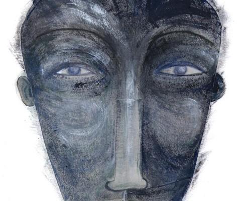 Grey face 2