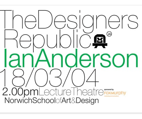 In-house poster for Ian Anderson