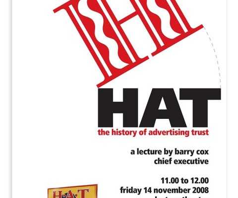 In-house poster for HAT talk