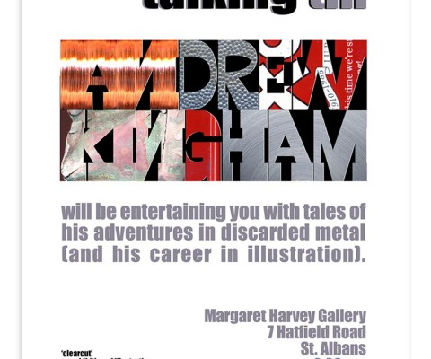 In-house poster for Andrew Kingham