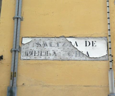 Archetypal Venetian palimpsest in Dorsoduro